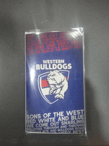 Footy Plus More cards and wrap Western Bulldogs Musical Greeting Card