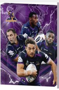 Footy Plus More carnvas EXCLUSIVE MELBOURNE STORM CANVAS FEATURES SMITH SLATER ADDO-CARR and VUNIVALU