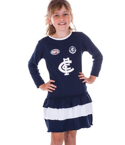 Footy Plus More Clothing Carlton Blues Footysuit Dress