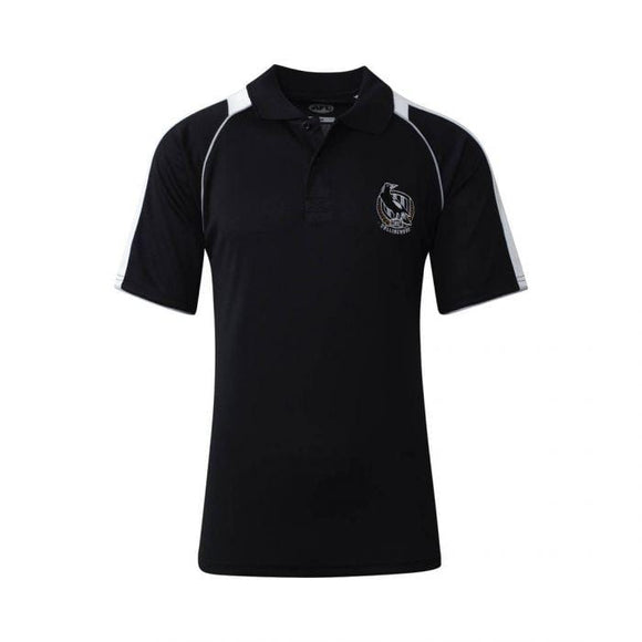 Footy Plus More Clothing Collingwood Magpies Mens Essentials polo