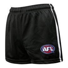 Footy Plus More Clothing Collingwood Magpies Mens Replica Footy Shorts