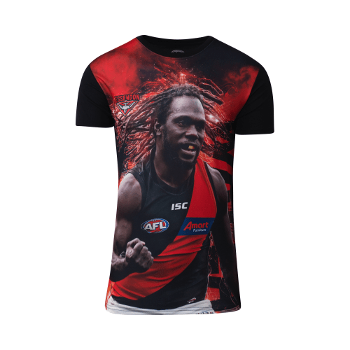 Footy Plus More Clothing Essendon Bombers Anthony McDonald-Tipungwuti Mens Player 2019 Tee