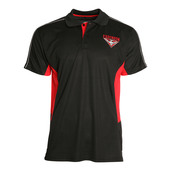 Footy Plus More Clothing Essendon Bombers Premium Polo Summer 18/19