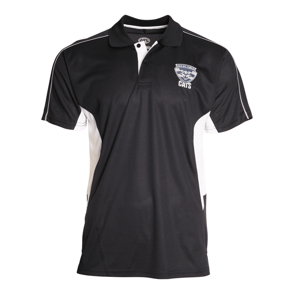 Footy Plus More Clothing Geelong Cats Premium Polo Summer 18/19