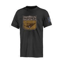 Footy Plus More Clothing Hawthorn Hawks Retro Tee