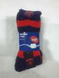 Footy Plus More Clothing Melbourne Demons Bed Socks