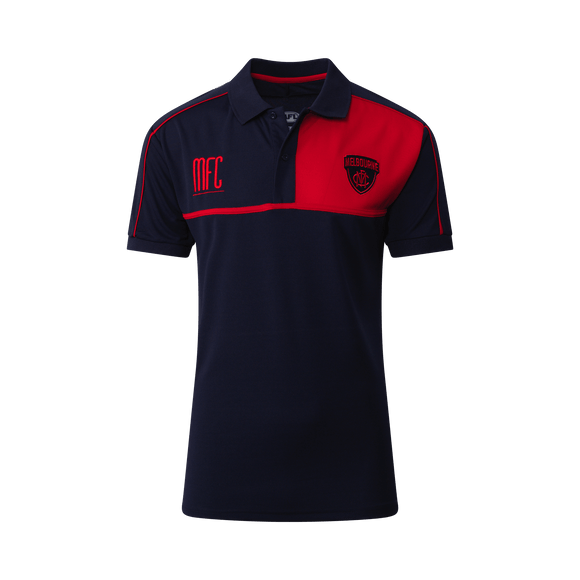 Footy Plus More Clothing Melbourne Demons Mens Premium Polo 2019
