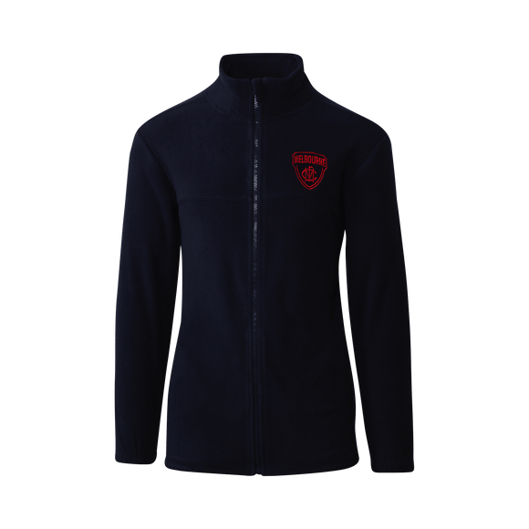 Footy Plus More Clothing Melbourne Demons Polar Fleece Full Zip