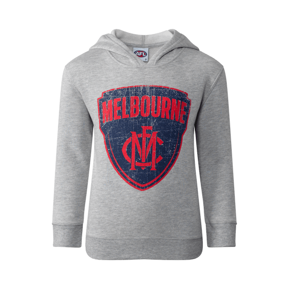 Footy Plus More Clothing Melbourne Demons Youth Printed Hood