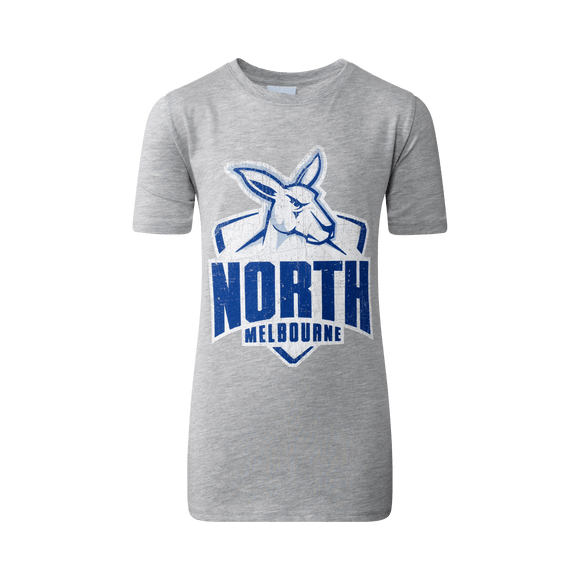 Footy Plus More Clothing North Melbourne Kangaroos Youth Printed Tee