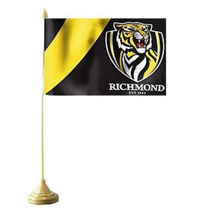 Footy Plus More Clothing Richmond Tigers Desk Flag