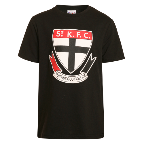 Footy Plus More Clothing ST Kilda Saints Kids Basic Logo Tee