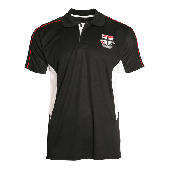 Footy Plus More Clothing St Kilda Saints Premium Polo Summer 18/19