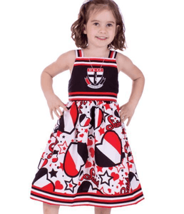 Footy Plus More Clothing St Kilda Saints Stars and Stripes Girls Dress