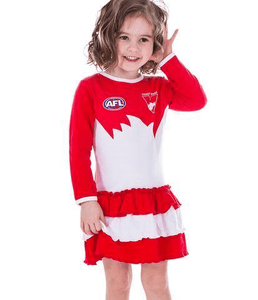 Footy Plus More Clothing Sydney Swans Footysuit Dress