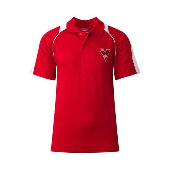 Footy Plus More Clothing Sydney Swans Mens Essentials Polo