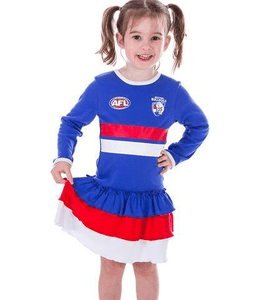 Footy Plus More Clothing Western Bulldogs Footysuit Dress