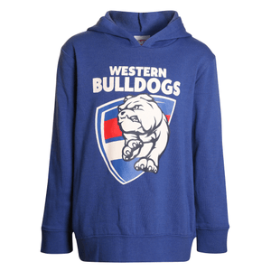 Footy Plus More Clothing Western Bulldogs Kids Logo Hoodie