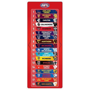 Footy Plus More Collectable AFL Football look Magnetic Mini Ladder