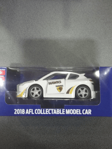 Footy Plus More Collectable Hawthorn Hawks 2018 Collectable Model Car