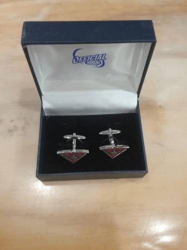 Footy Plus More Cufflinks Essendon Bombers Logo Cufflinks