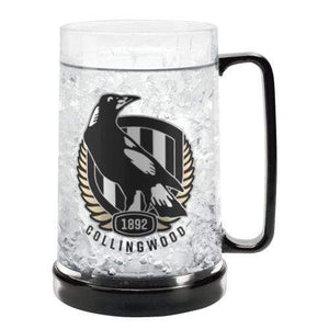 Footy Plus More cups Collingwood Magpies Ezy Freeze Mug