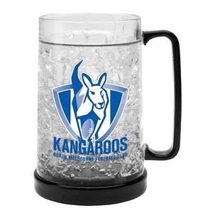 Footy Plus More cups North Melbourne Kangaroos Ezy Freeze Mug