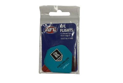 Footy Plus More Darts Power Port Adelaide Power Dart Flights