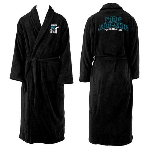 Footy Plus More Dressing gown Port Adelaide PowerDressing Gown