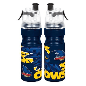 Footy Plus More DRINK BOTTLES Adelaide Crows Misting Water Bottle