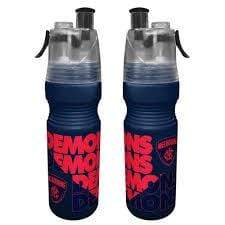 Footy Plus More DRINK BOTTLES Melbourne Demons Misting Water Bottle