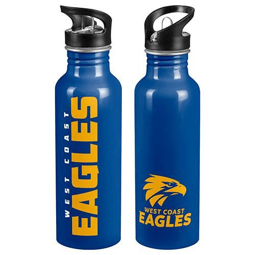 Footy Plus More DRINK BOTTLES West Coast Eagles Aluminium Drink Bottle