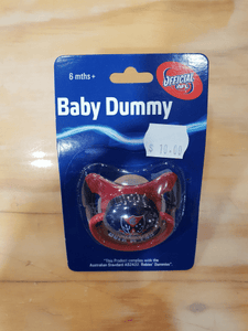 Footy Plus More dummy Melbourne Demons Infant Dummy