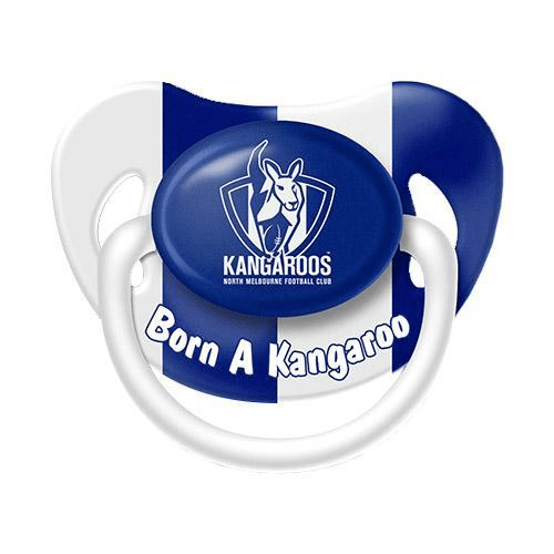 Footy Plus More dummy North Melbourne Kangaroos Infant Dummy