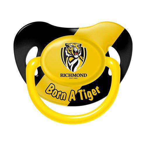Footy Plus More dummy Richmond Tigers Infant Dummy