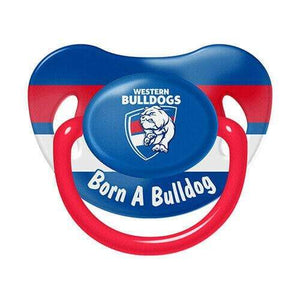 Footy Plus More dummy Western Bulldogs Infant Dummy