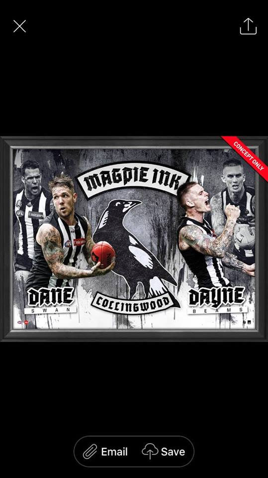 Footy Plus More event Dane Swan and Dayne Beams Meet Greet and Photo Package