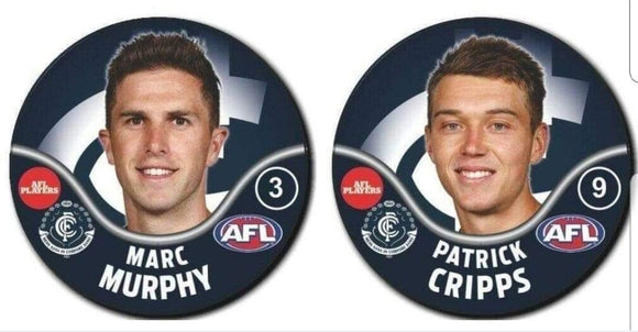 Footy Plus More event Marc Murphy and Patrick Cripps Meet Greet and Photo Package