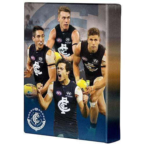 Footy Plus More event Marc Murphy and Patrick Cripps Meet Greet Professional Photo and Signed Canvas Package