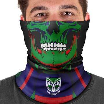 Footy Plus More Face Mask New Zealand Warriors Multi Scarf Bandana