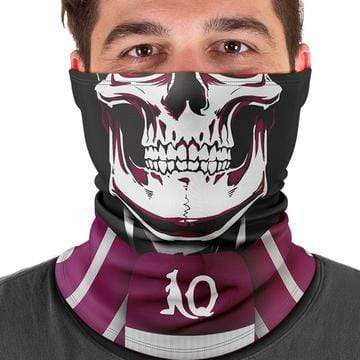 Footy Plus More Face Mask Queensland Maroons Multi Scarf Bandana