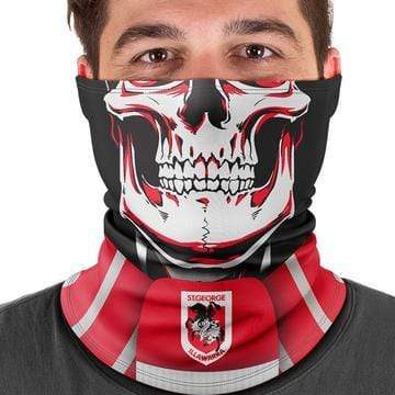 Footy Plus More Face Mask St George Dragons Multi Scarf Bandana