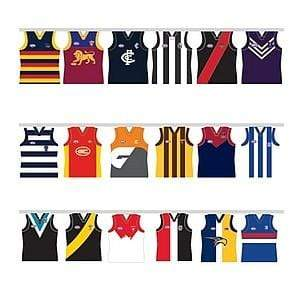 Footy Plus More Flag AflTeam Party Bunting