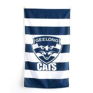 Footy Plus More Flag Geelong Cats Cape Flag