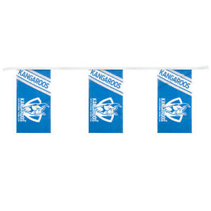 Footy Plus More Flag North Melbourne Kangaroos Bunting Flag
