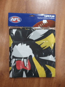 Footy Plus More Flag Richmond Tigers Cape Flag