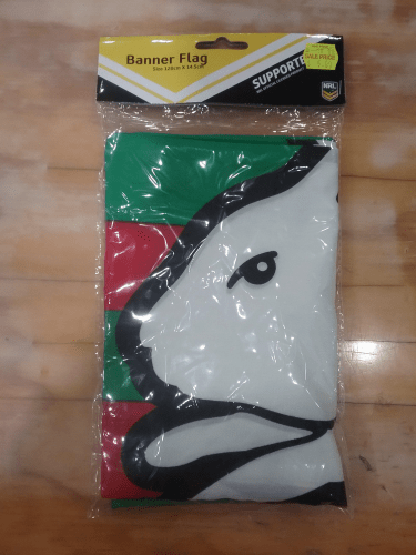 Footy Plus More Flag South Sydney Rabbitohs banner flag