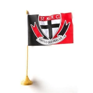 Footy Plus More Flag St Kilda Saints Desk Flag