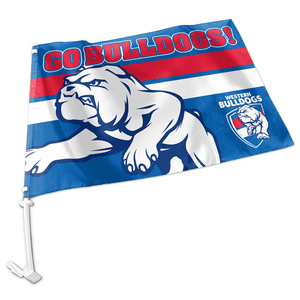 Footy Plus More Flag Westen Bulldogs Dogs Car Flag