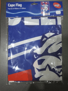 Footy Plus More Flag Western Bulldogs Cape Flag